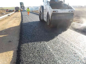 Eight thousand tonnes of tarmac will be used to surface new Grantham road