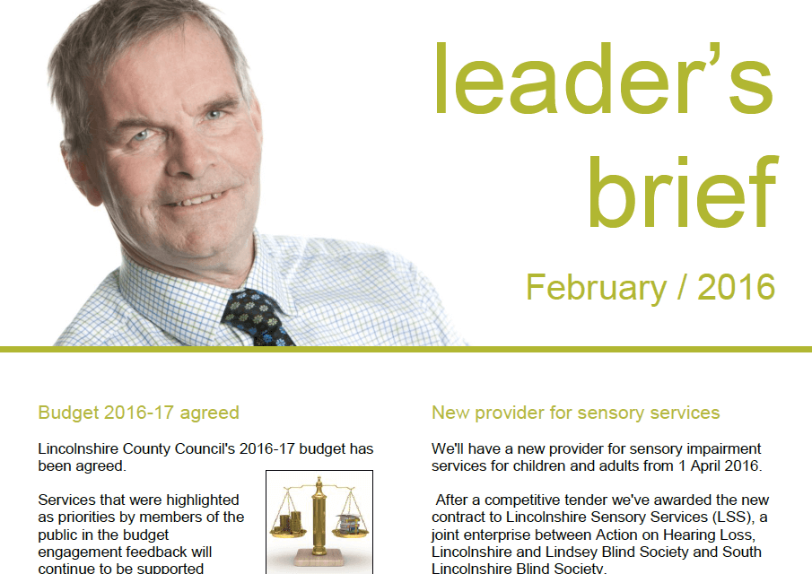 Leader's Brief Feb 2016