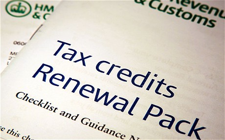 No one should take the credit for tax credits