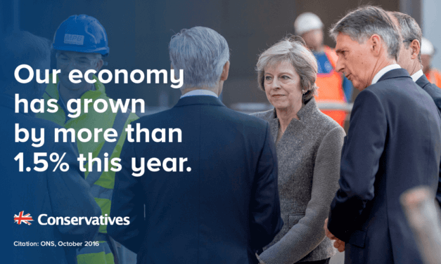 British economy grew by 0.5%