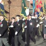 Grantham Remembrance Parade 2017