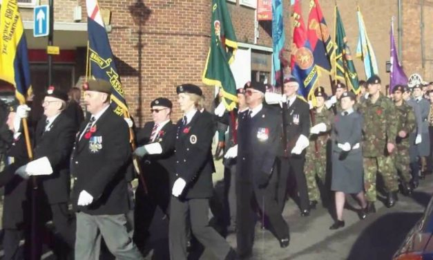 Grantham Remembrance Day Parade 2018