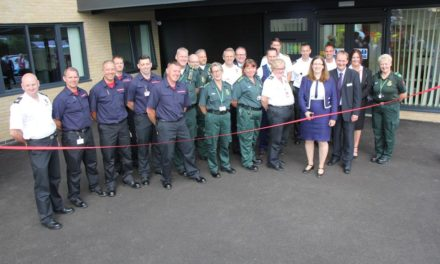 MP Caroline Johnson officially opens Sleaford fire and ambulance station