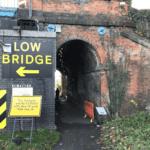 Barrowby Rd rail bridge foot path closure