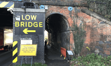 Barrowby Rd rail bridge foot path closure