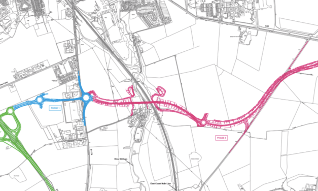 Public inquiry for Grantham Southern Relief Road starts and ends on same day