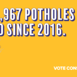 Lincolnshire County Council amongst the top five councils in the country for fixing potholes