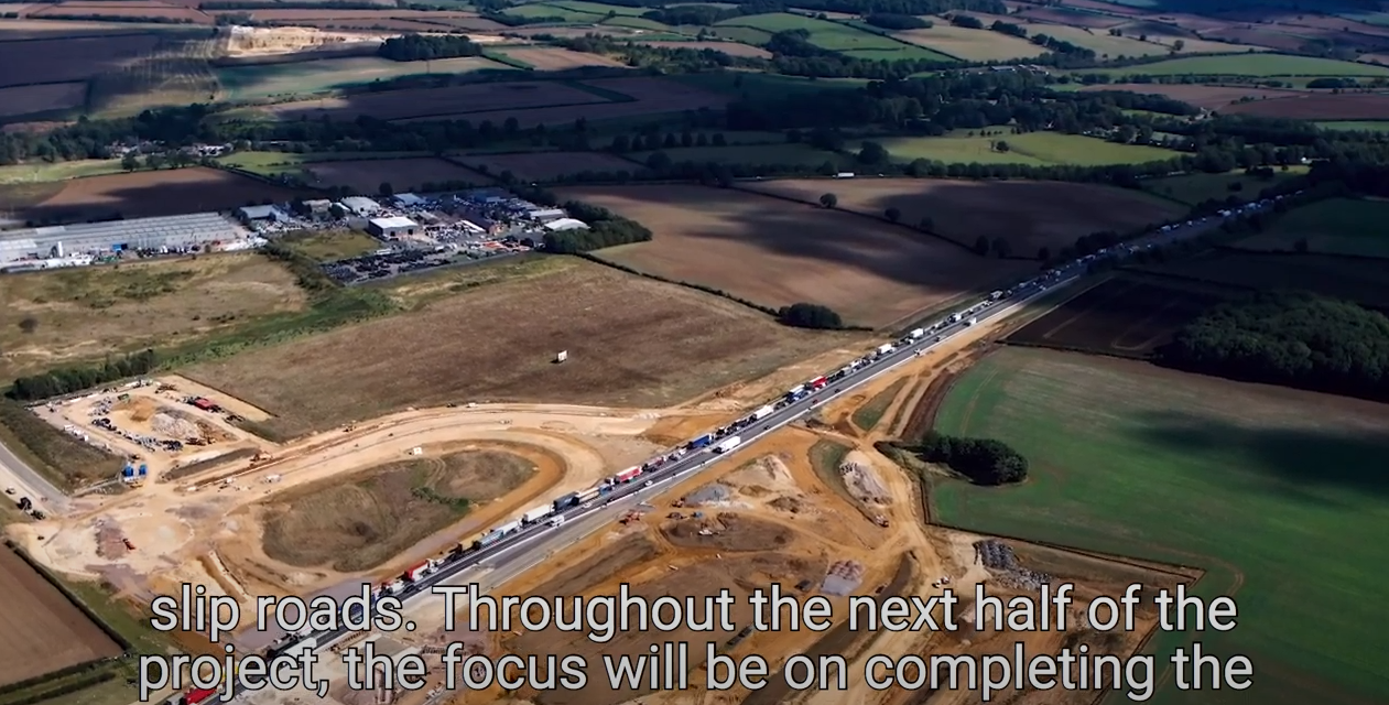 MIDWAY POINT FOR GRANTHAM SOUTHERN RELIEF ROAD PHASE TWO
