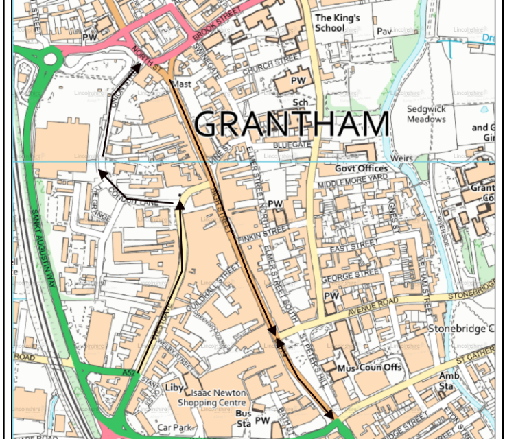 Active Travel Fund: your views on new walking and cycling schemes for grantham & Lincolnshire